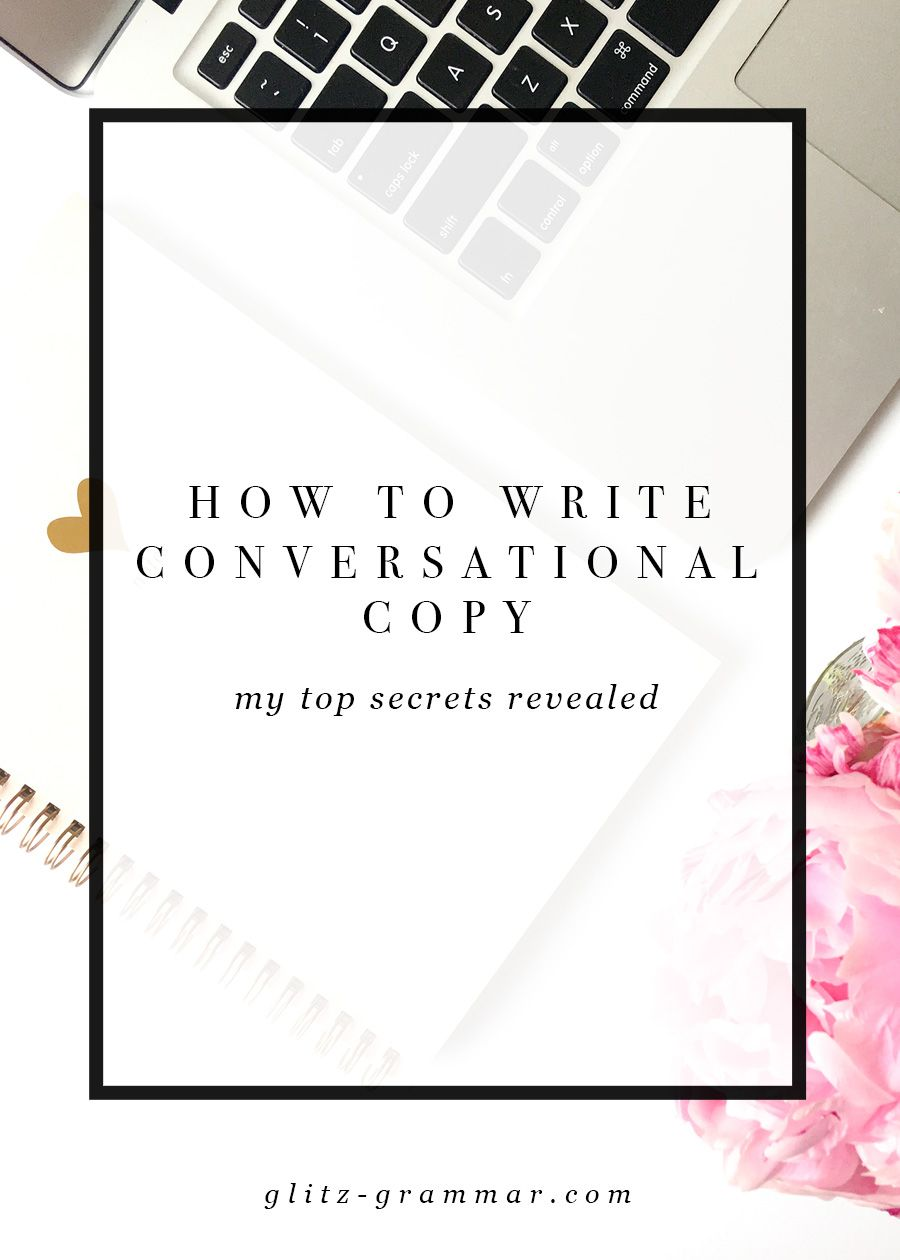Writing conversational copy will humanize your brand, translating into sales. Here are my secrets to writing conversational copy your audience will love.