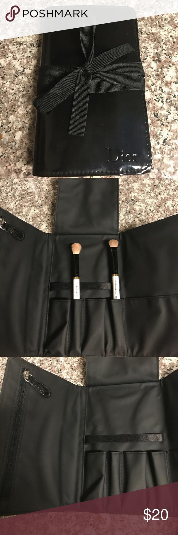 SALE🛍 Dior Make Up Brush Travel Case NWOT Clothes design