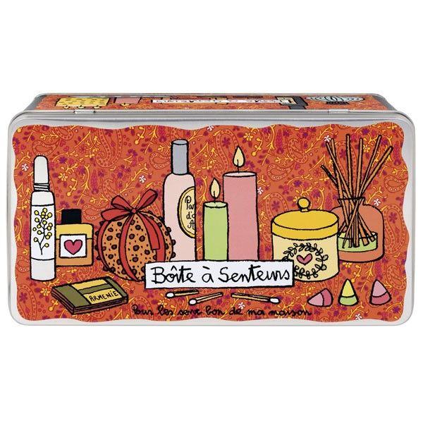 Boîte à senteurs De Ma Maison - Derrière La Porte DLP - Décoration pratique et boite de rangement/Boîte métal derrière la porte - espritlogis-fr