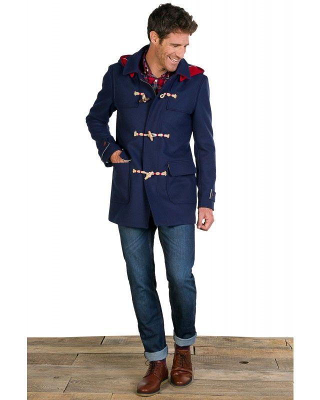 Duffle-coat Classique Bleu | El Ganso Online Store | Idee cadeau ...