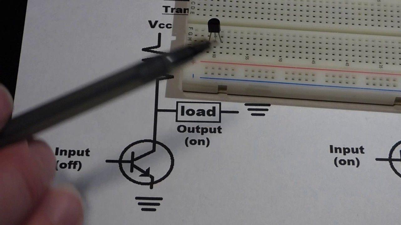 Electronics Not Gate Aka Digital Inverter Explained Circuit Of