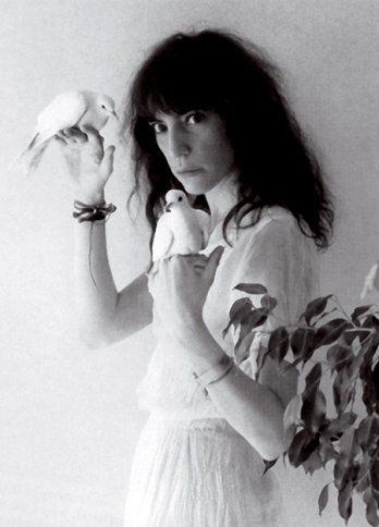 Patti Smith by Mapplethorpe
