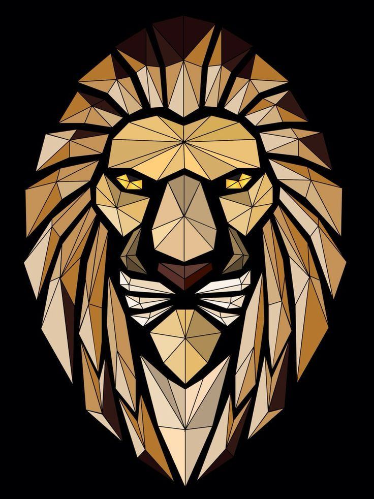 Abstract lion vector art#vectorart #course Learn how to ...