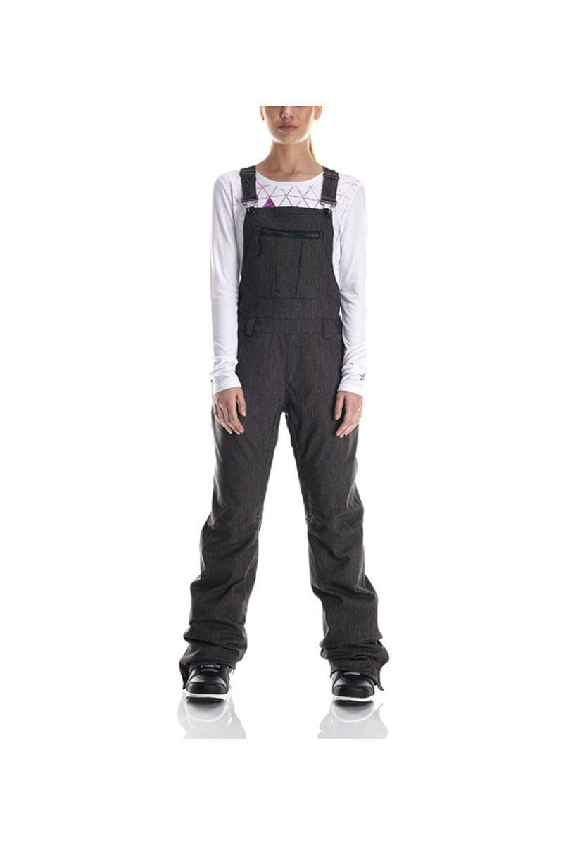 Theres Overalls And Then The 2017 686 Womens Parklan Black Magic Snowboard Pant Overall Which Are A LOT Cooler