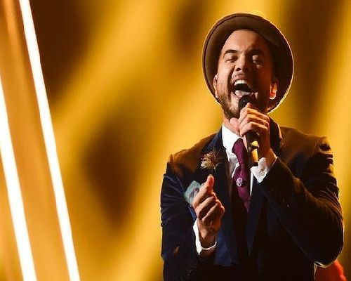 Guy Sebastian: Australian singer Guy Sebastian I'M Putting My Money on Sweden