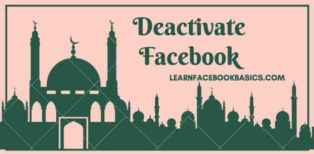 How To Deactivate Facebook Account Temporarily Disable Fb