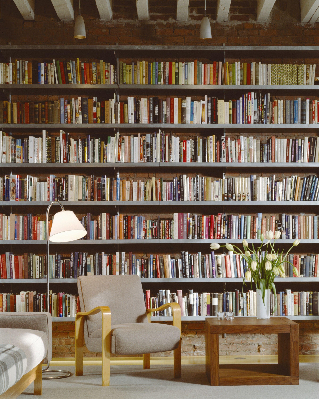 Home Library Loft: Loft In Tribeca, New York City. Ike Kligerman Barkley