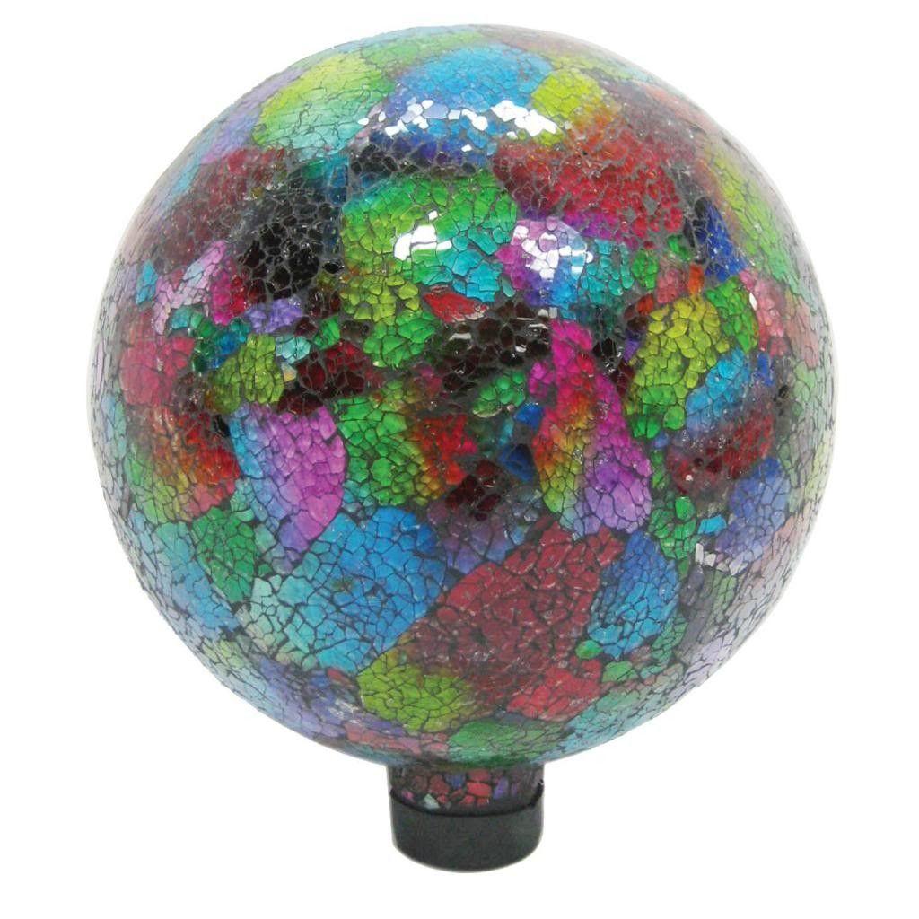 Mosaic Gazing Ball Gazing ball, Mosaic glass, Gazing globe