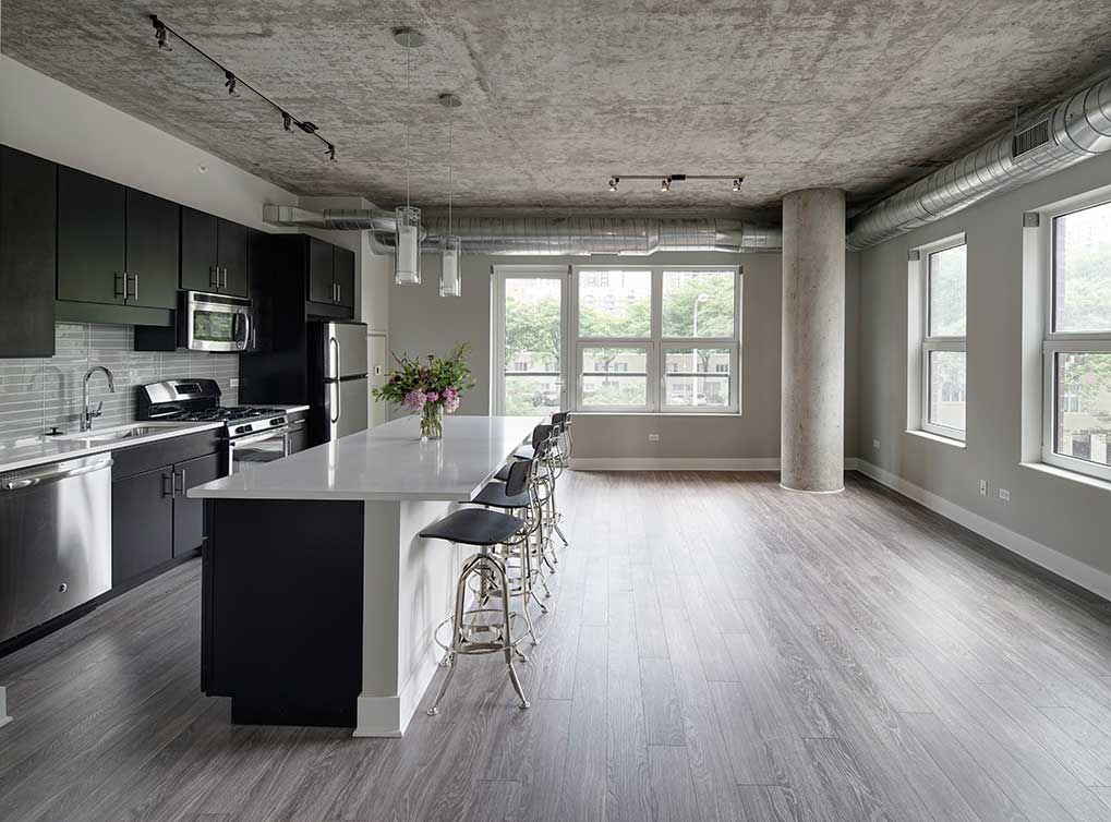 model apartment at our brand new South Loop