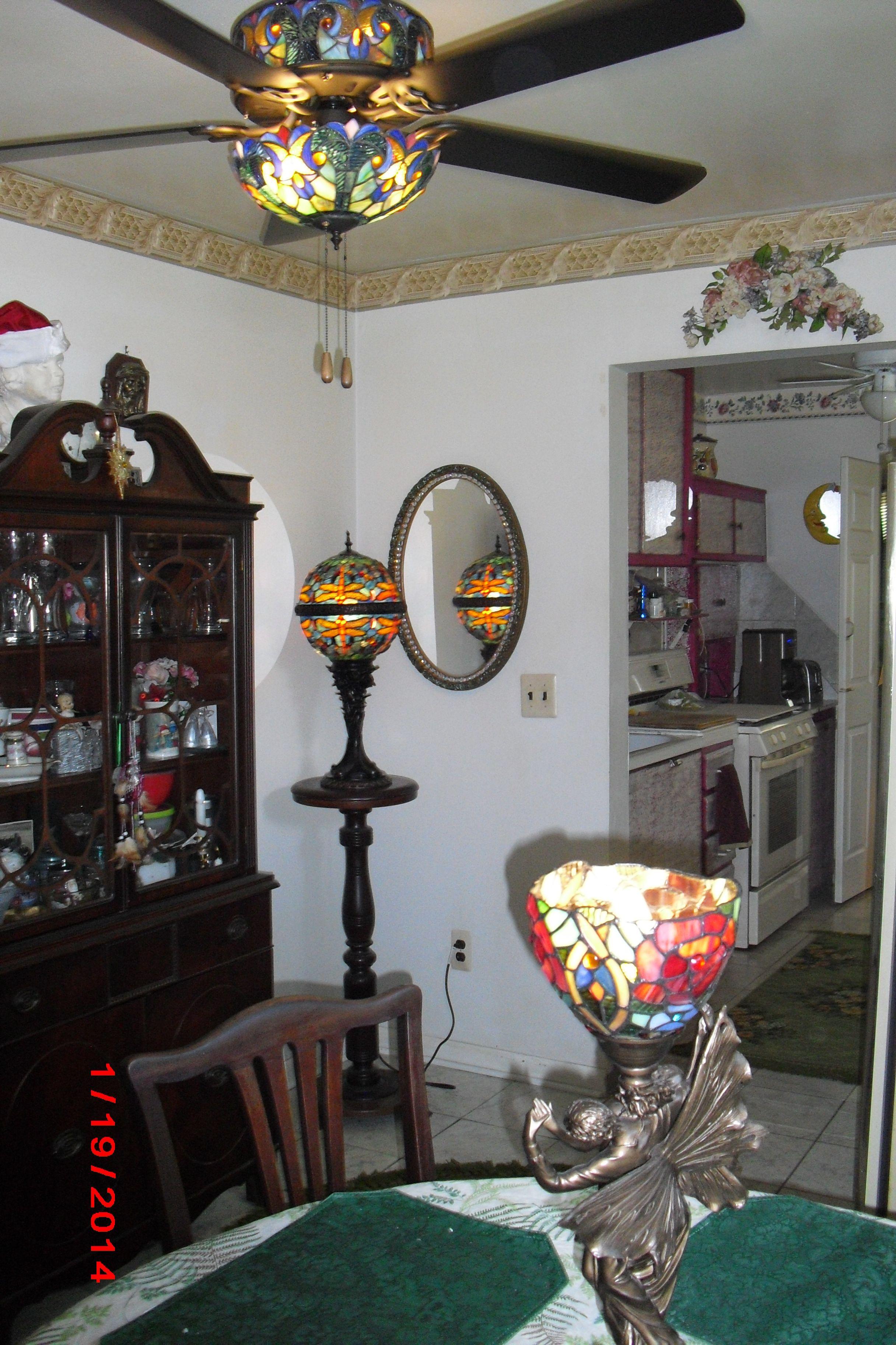 Tiffany ceiling fan Ideas for the House Pinterest