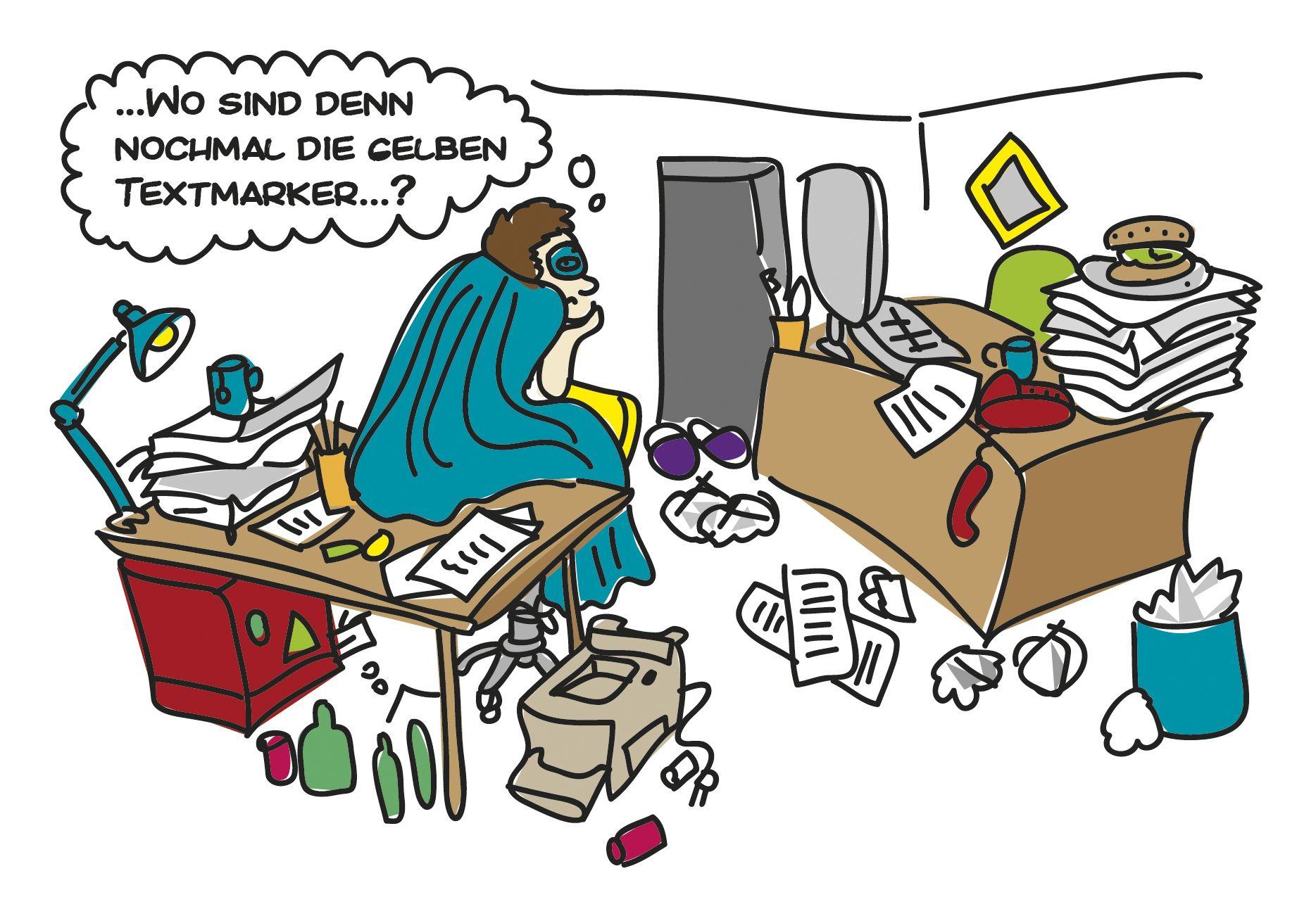 1 Schritt Beim Socialmedia Fruhjahrsputz Chaos Sichten