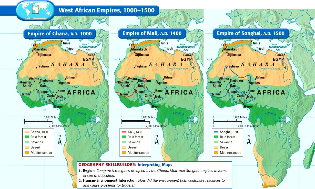 african empires The bantu before the age of empires sub-saharan africa was extremely diversified unlike parts of europe, asia, and north africa, it was never.