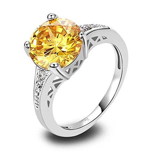 Pin By Psiroy Jewelry Fashion Ring On Citrine Rings