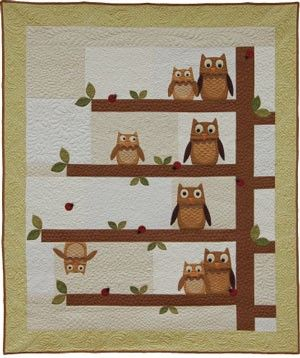Owl quilt pattern | My next big project | Pinterest | Owl quilt ... : owl quilt patterns baby - Adamdwight.com