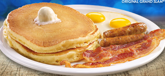 FREE Build Your Own Grand Slam Breakfast (when you order