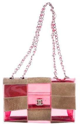 8f7709eefc37 Tan and red PVC patchwork Chanel Naked Flap bag $795 #bags #handbags  #shoulderbag #bolsa #chanel #style #afflink #shopstyle #womensfashion  #mystyle