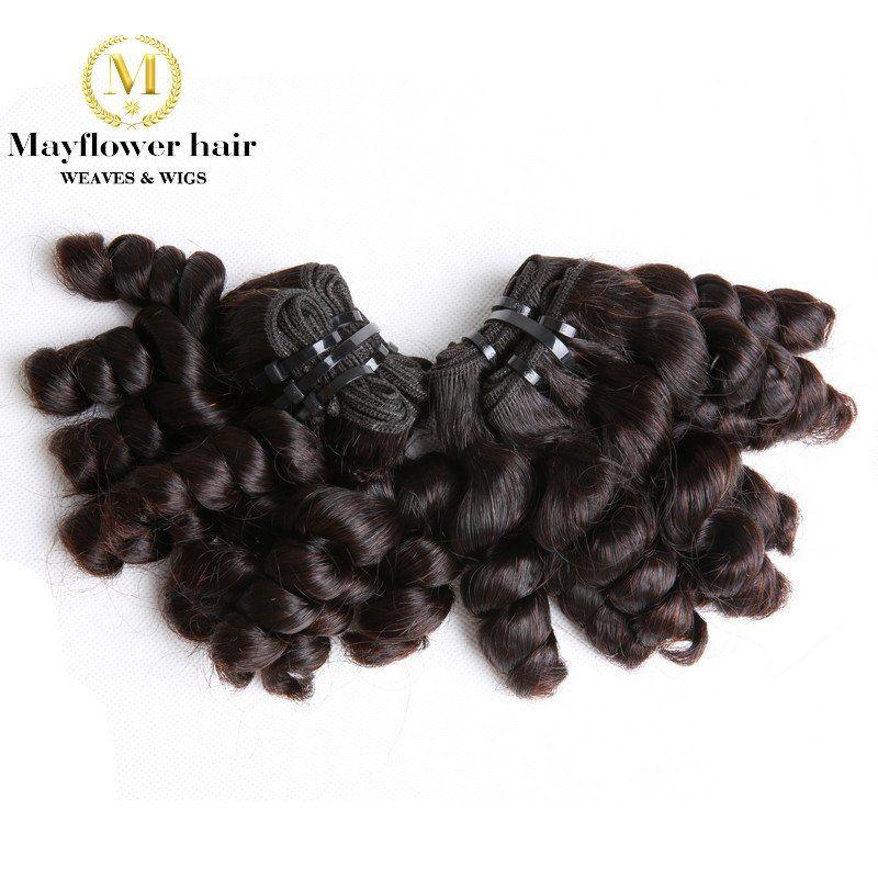 Double Drawn Funmi Hair Spanish Curl Hair Weaves