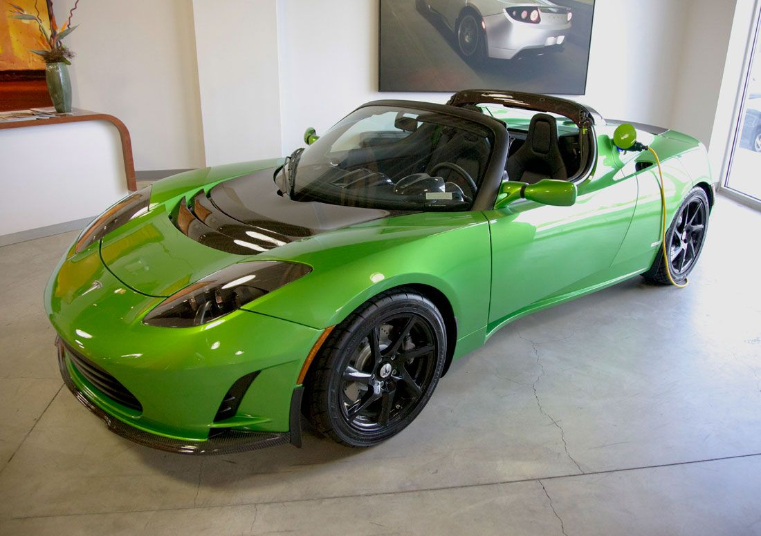 Perfect Car For Me Tesla Roadster All Electric In Secs - Sports cars under 60