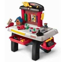 Little Tikes Craftsman Workshop Play Tool Bench Little Tikes Kids And Family Shopping Com Kids Workshop Kids Play Kitchen Tool Bench
