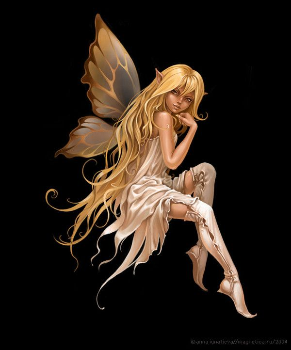 Starlight By Ana Ignatieva Comment Dessiner Des Fees Art Feerique Elfes Fantastiques