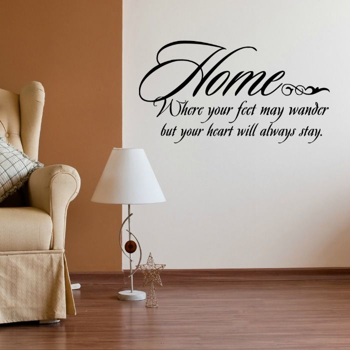 Wall decals wall stickers quotes uk walls frames for Home decor quotes on wall