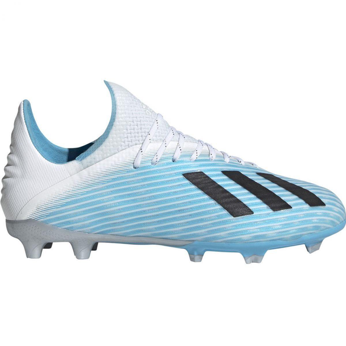 Adidas X 19 1 Fg Jr F35684 Football Shoes Multicolored Blue Adidas Football Shoes Adidas Football