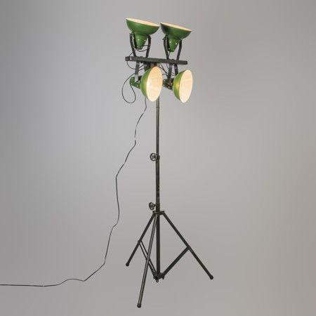 Gr 252 Ne Stehlampe Mit Sockel Led Floor Lamp Pedestal Floor Lamp