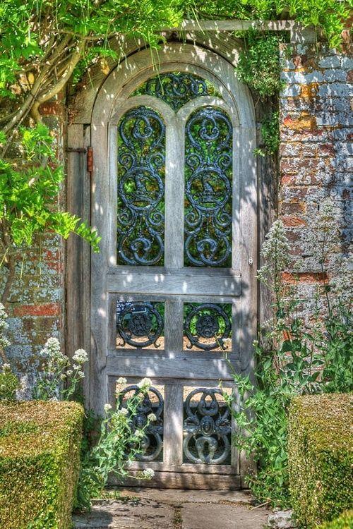 Garden gate garten Pinterest Ventana, Jardín y Puertas ventanas
