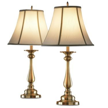 Jcpenney home set of 2 hennessey table lamps jcpenney