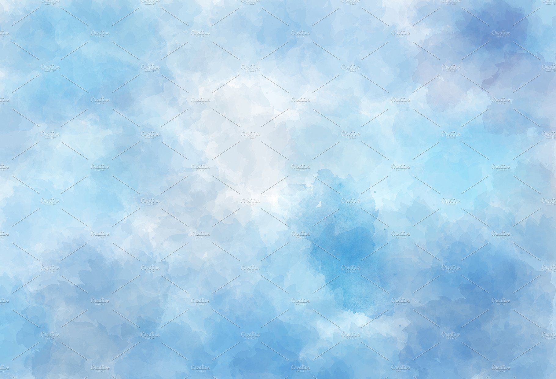 10 Blue Watercolor Backgrounds cardspostersdisplay