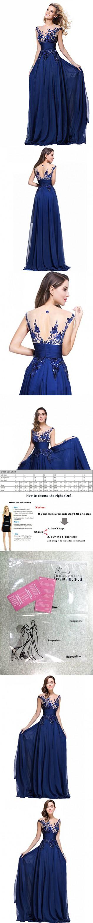 Babyonline chiffon prom dresses long for women formal cocktail