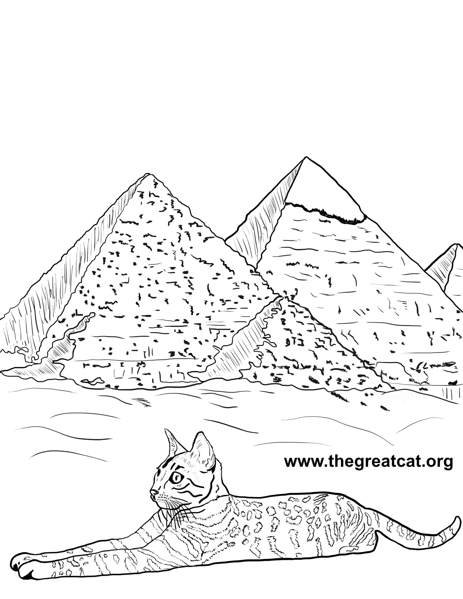 Cat Breeds Coloring Book One All Things Cat Pinterest Egyptian
