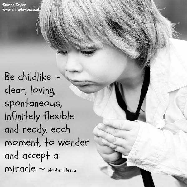 Be Childlike (from Anna Taylor)