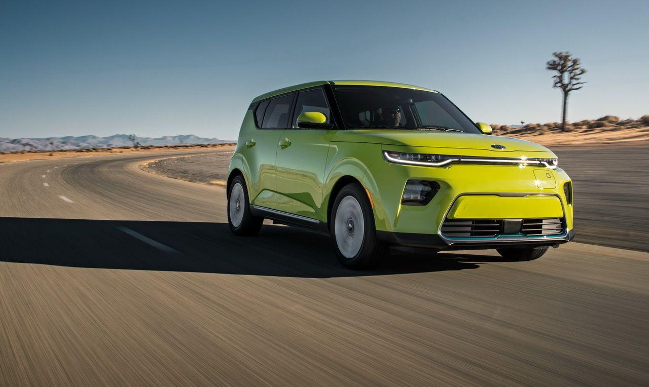 Kia Soul EV SUV électrique destiné à l'Europe Kia