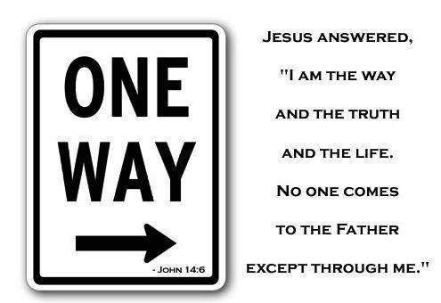 John 14:6   Scripture Memory Verse