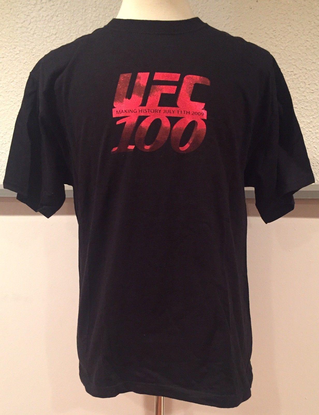 Ufc 100 Making History July 11 2009 T Shirt Brock Lesnar Gsp Large Http Bestsellerlist Co Uk Ufc 100 Making History July 11 2009 T Ufc 100 Brock Lesnar Ufc
