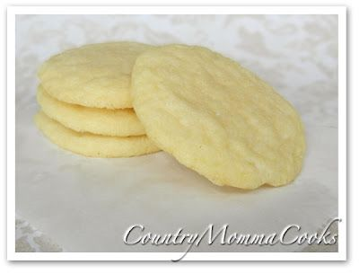 Old-Fashioned Sugar Cookies  @CountryMommaCooks