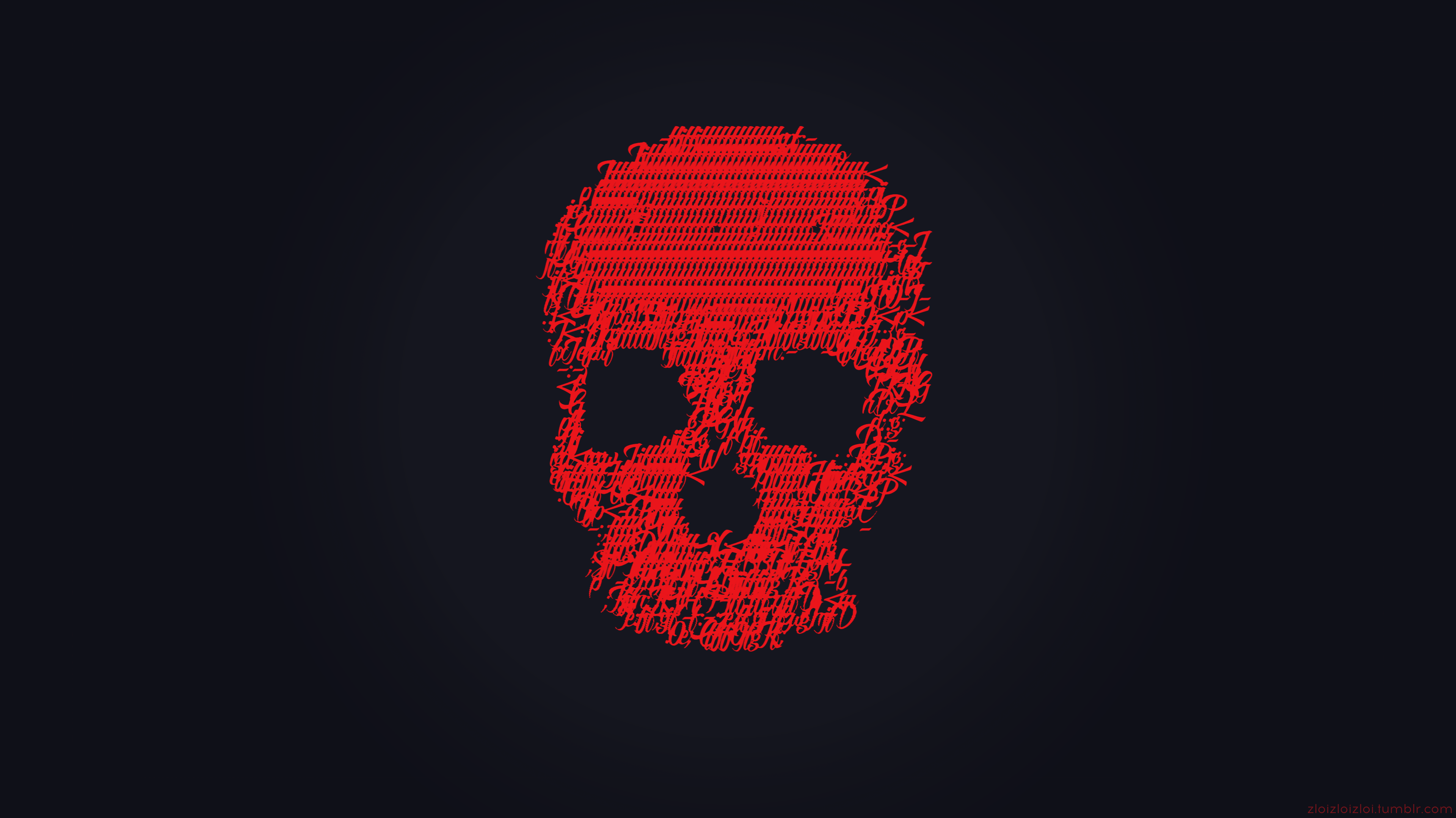 Red Skull Ascii 3840x2160 Investified Is A Blog For People Passionate About Business Investments Finance Skull Wallpaper Glitch Art Glitch Wallpaper