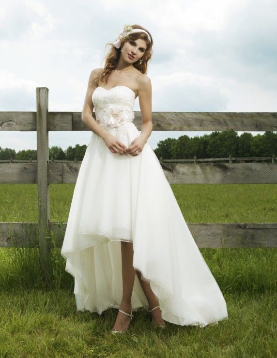 17 Best images about Wedding Dresses on Pinterest - White short ...