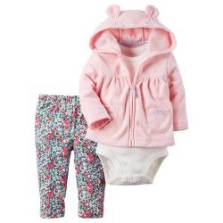 ff4202a61 CONJUNTO CHOMPA ROSA | Ropa de bebés | Ropa infantil para niña ...