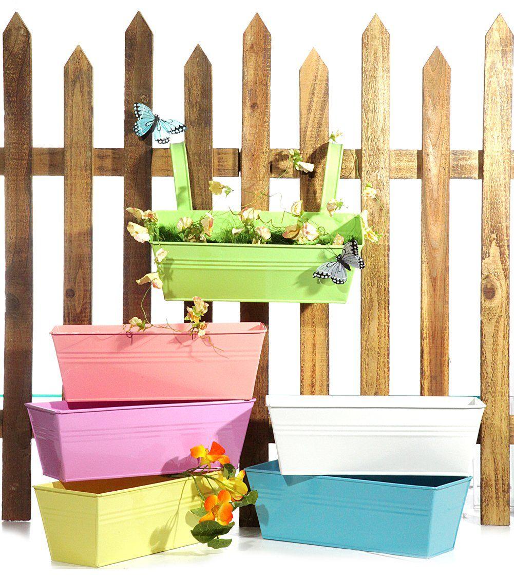 pflanzkasten 28 cm pastell spring farben blumenkasten zum. Black Bedroom Furniture Sets. Home Design Ideas