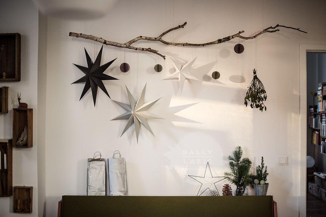 Ast & Sterne #Ästeweihnachtlichdekorieren