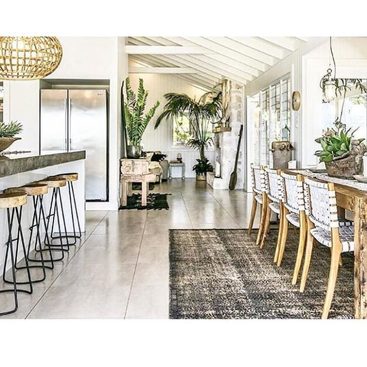Seashore Home Decor: The Grove ~ Byron Bay Love The Dining Chairs …