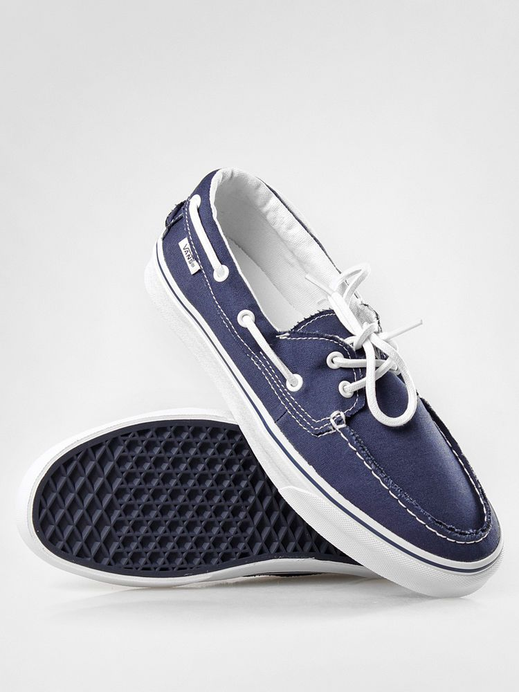 7c49252a263a Vans Zapato Del Barco Canvas Navy Blue White Mens Womens Shoes Sizes  4.5-10.5 US  VANS  Skateboarding