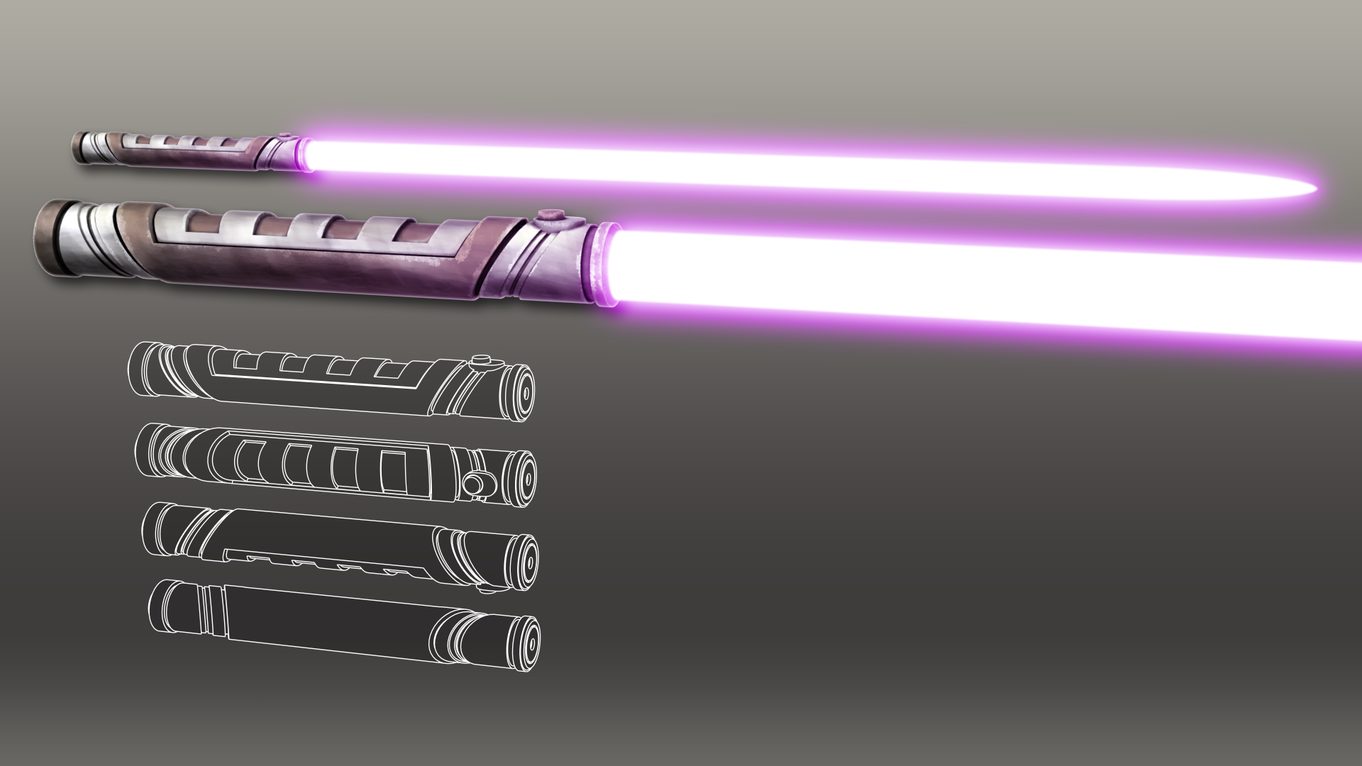 Guardian Lightsaber By Broodofevil On Deviantart Purple Lightsaber Star Wars Images Lightsaber