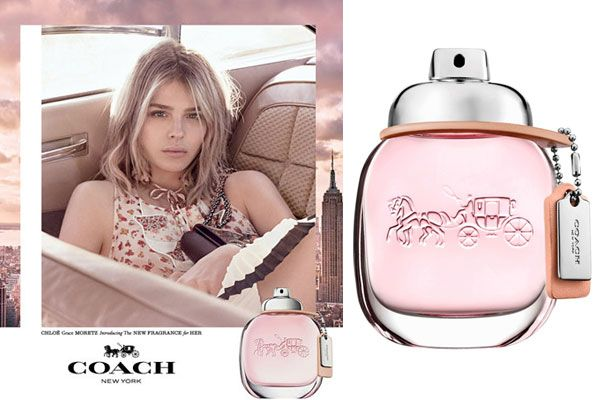 Coach Eau De Toilette Fragrance Ad Featuring Actress Chloe Grace Moretz Perfume And Cologne Fragrance Ad Perfume