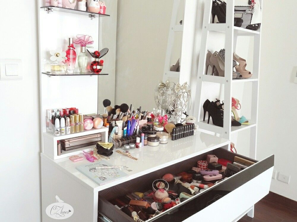 Pin by Steffany Tehae on How to organize your makeup