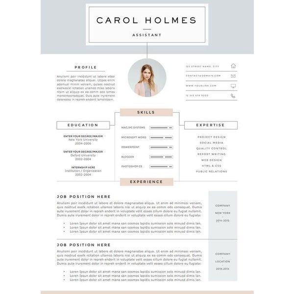 Sample Resumes With References Pinbrittney Clapper On Things I Love  Pinterest  Template Cv .
