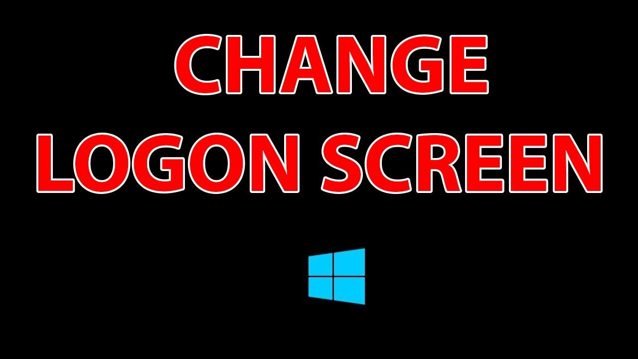 How to change the logon screen in windows 8 81 tutorial in this short tutorial we are going to show you how to change the original windows 8 and windows boot screen in a very simple steps baditri Images