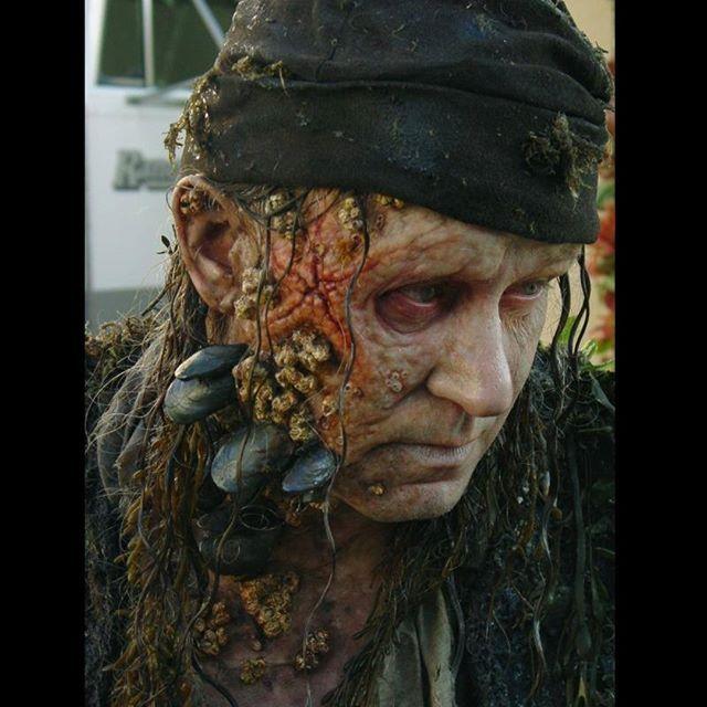 Actor Stellan Skarsgård\u0027s \u0027Bootstrap\u0027 Bill Turner makeup by